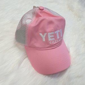 Yeti pink hat